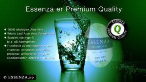Acemannan kan kun utfolde sin funskjon til fulle hvis kvaliteten på Aloe Vera er gitt!