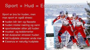Essenza Aloe Vera til Trening & Sport