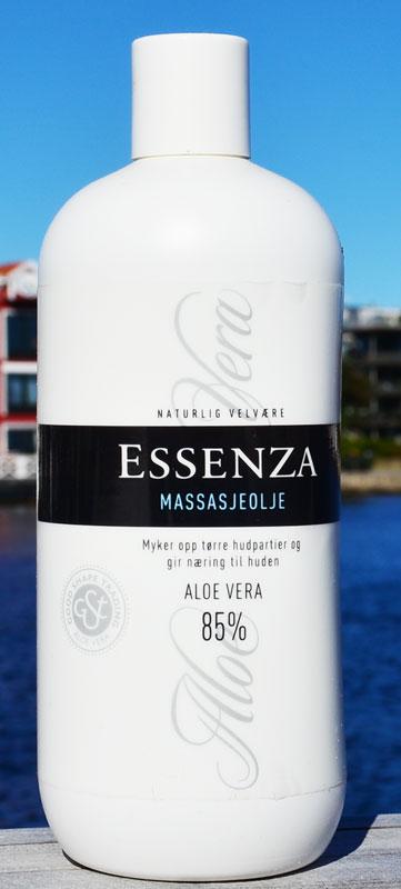 Essenza Aloe Vera Massajeolje (85%)