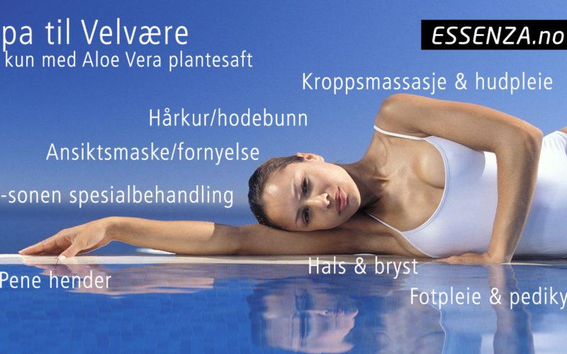 Spa & Velvære med Essenza Aloe Vera plantesaft