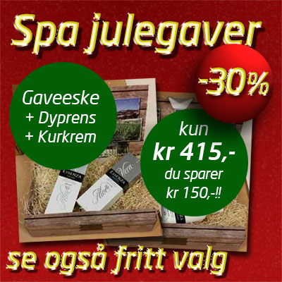 Essenza Aloe Vera julegaver Collagen Kurkrem og Dyprens
